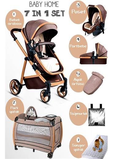 Baby Home Baby Home Gold 955 Vip Travel Sistem Bebek Arabası 600 Oyun Parkı Beşik Renkli